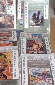 Sketchbooks 1993 onwards