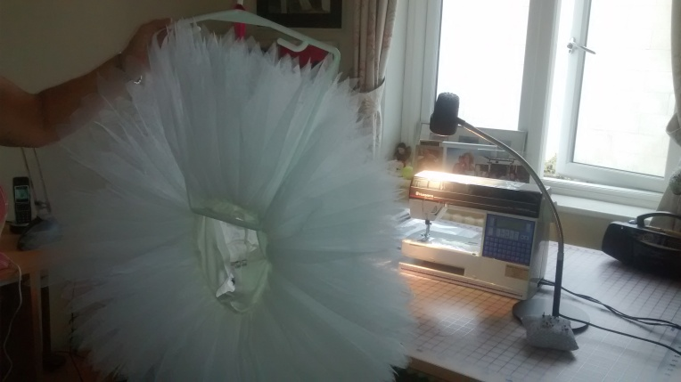 The net of the tutu